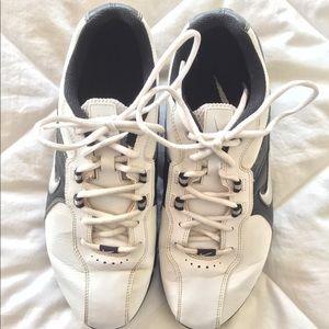 Nike TAC Men's Golf Shoe White/Black 9.5 LightWear